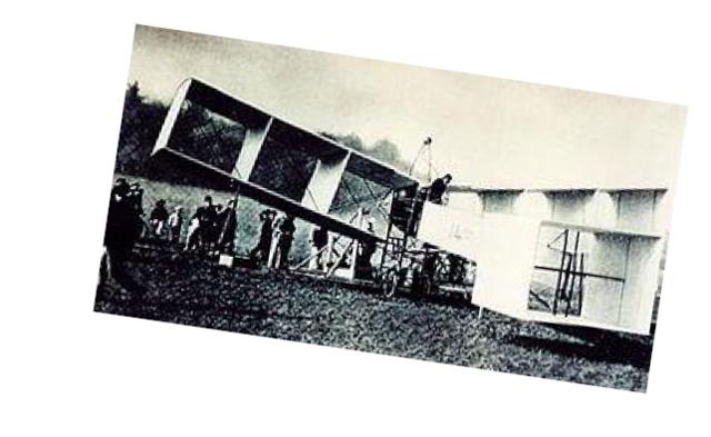1906 - 14 bis, Primeiro avião a voar.