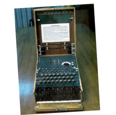 1910 - 1918: Codificação Enigma da Alemanha.