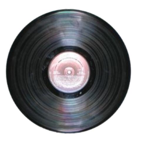 1948 - Disco de vinil é criado.