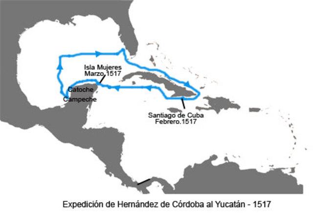 Primera expedición a México