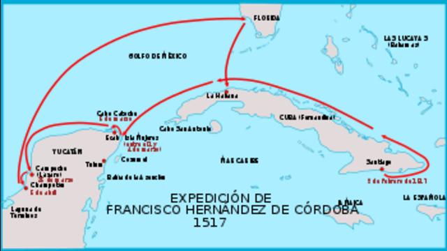 Segunda expedición a México