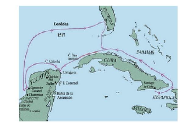 Tercera expedición a México