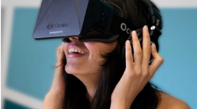 2014 : Realidade Virtual aumentada com o Óculos Rift.