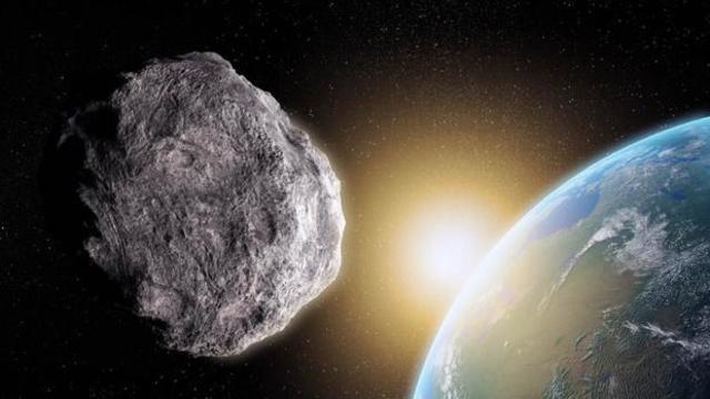 Un amenazante asteroide