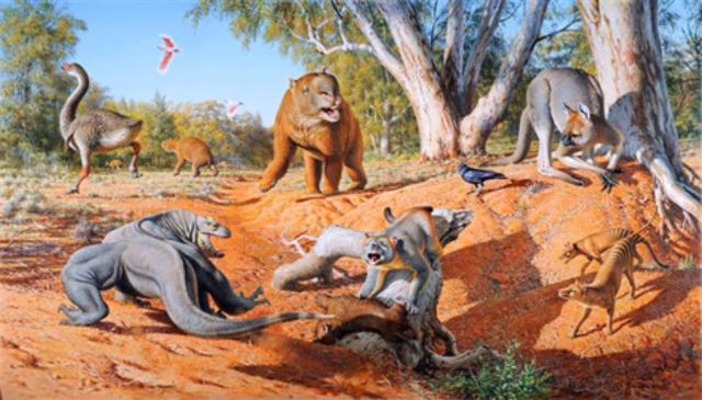 Aparecen los mamíferos