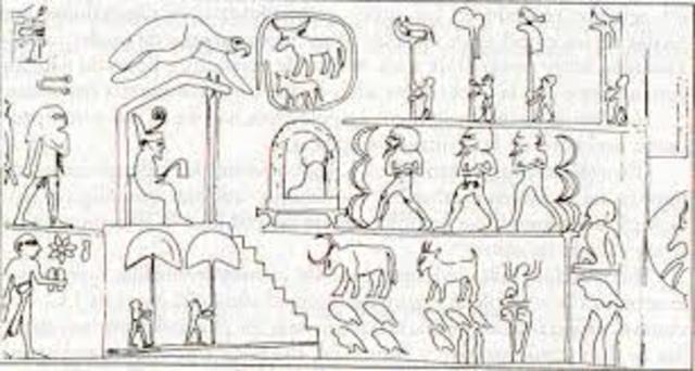 La maza del rey Narmer.