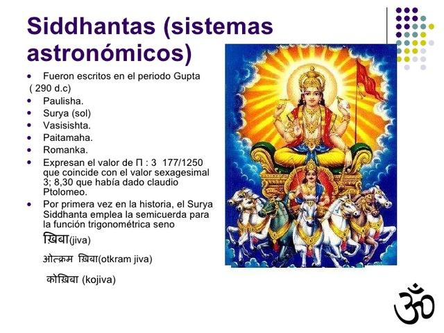 MATEMÁTICAS EN LA INDIA