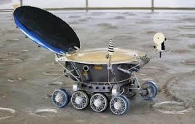 ROBOT LUNAIRE LUNOKHOD 1