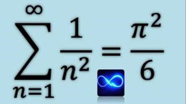 Euler resuelve el Problema de Basilea.