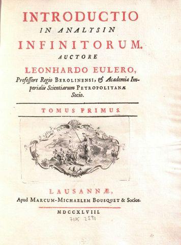 Euler hace una publicación importante.