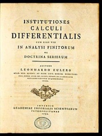 Euler tiene otra publicación relevante.