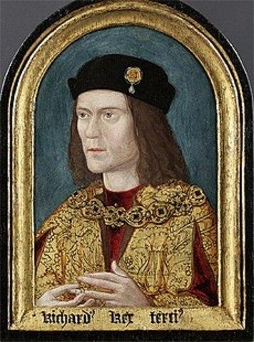 Richard III is killed during battle