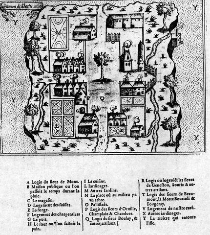 Samuel de Champlain founding of Quebec