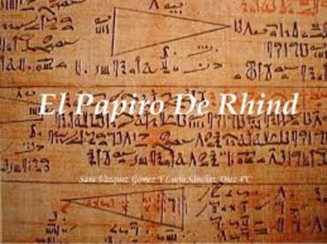 El papiro de Rhind