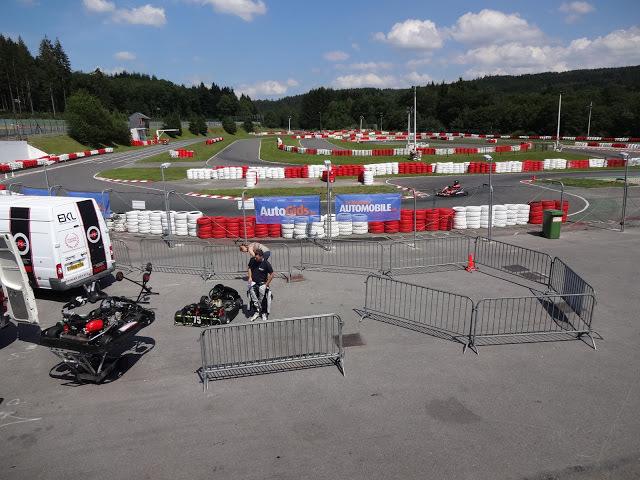 Karting à Francorchamps