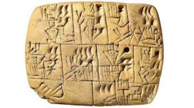 Escritura Mesopotámica 3000a.C