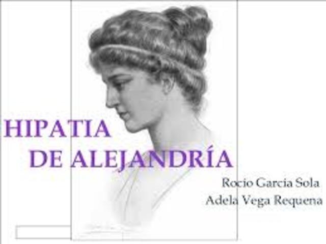 Alejandría de Hipatía 300 a.C