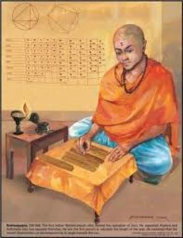 Cero y los hindues