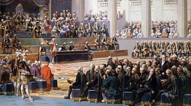 Luigi XVI convoca gli stati generali