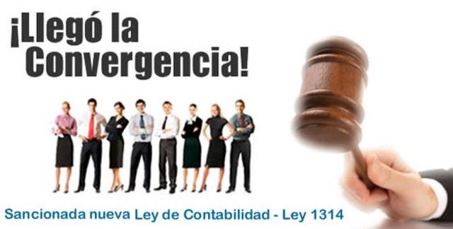 se aprobó ley 1314