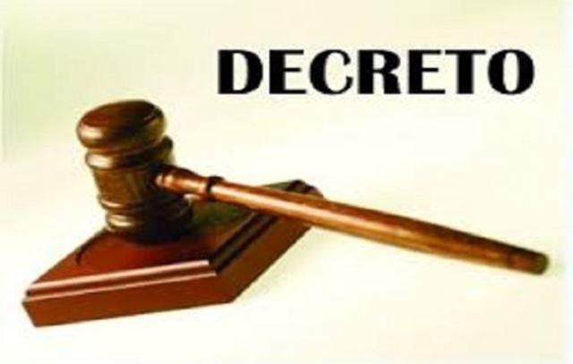decreto 30 - ley 550