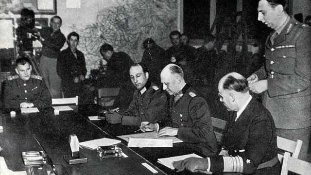 Capitulation de l'Allemagne