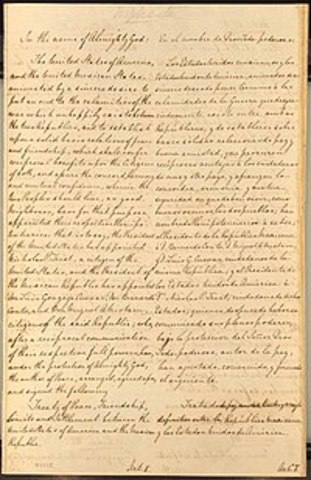 The Most Important Treaty You Have Never Heard of: The Treaty of Guadalupe-Hidalgo