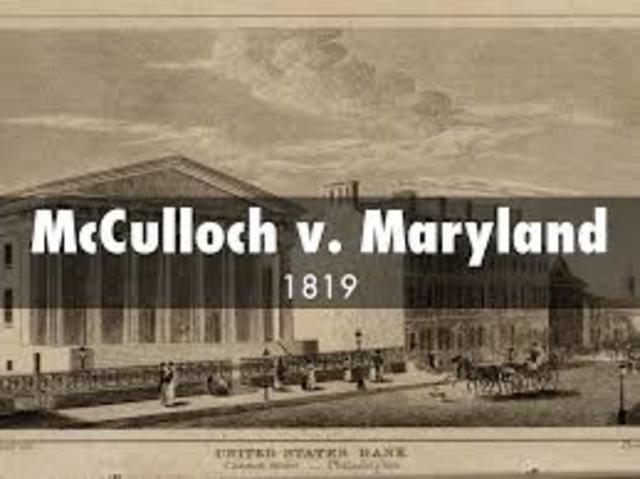 McCulloch v. Maryland