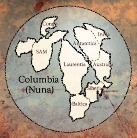 Supercontinente más antiguo: Nuna