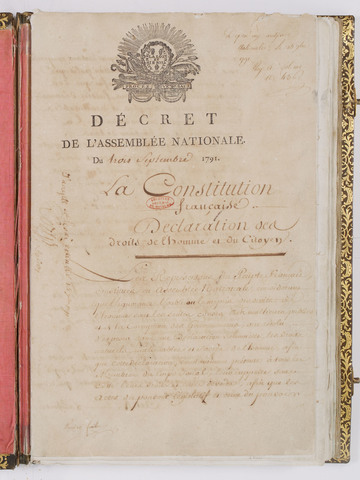 The constitution of the Year I