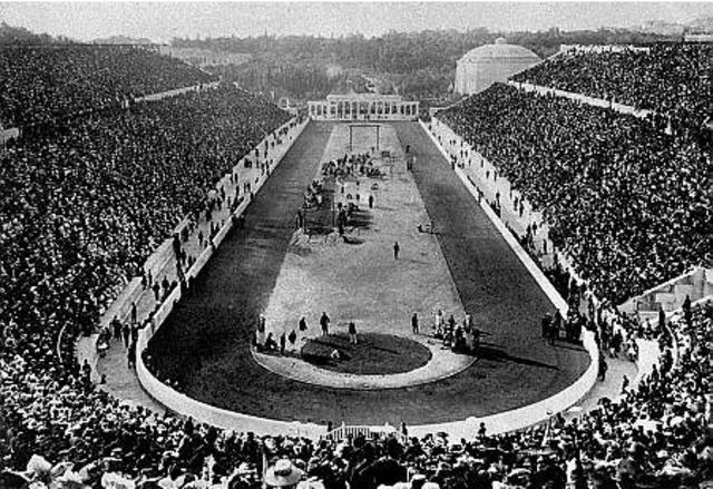 Los primeros Juegos Olímpicos