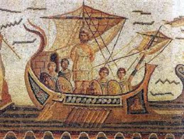 Telémaco viaja a Esparta para informase sobre su padre