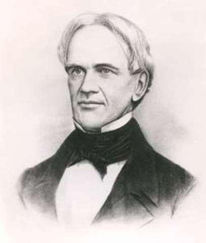 Horace Mann Elected Secretary of the Massachussetts Board of Education
