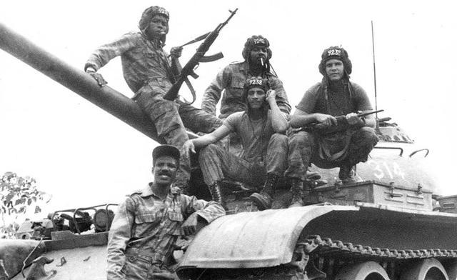 Intervención en Angola