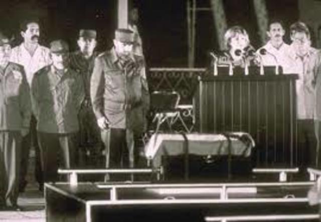 """Llegada y entierro del """"Che"""""""