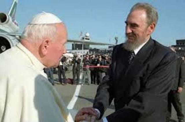 Visita del papa Juan Pablo II