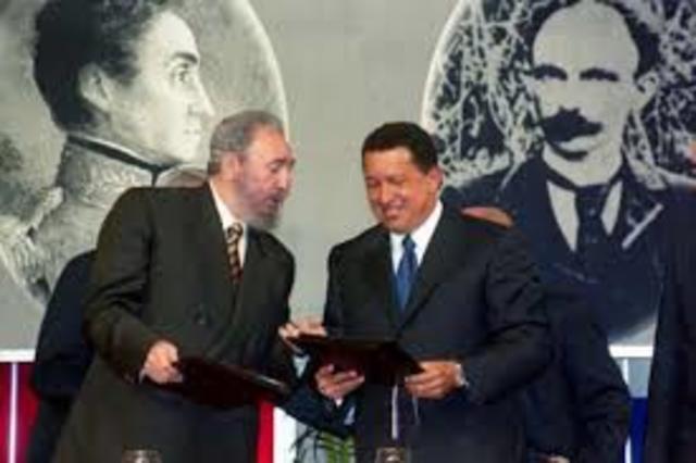 Acuerdo con Hugo Chavez