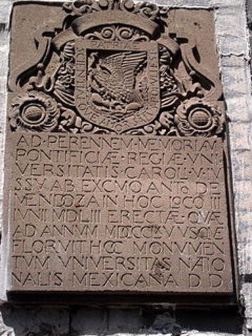 Fundación de la Real y Pontificia Universidad