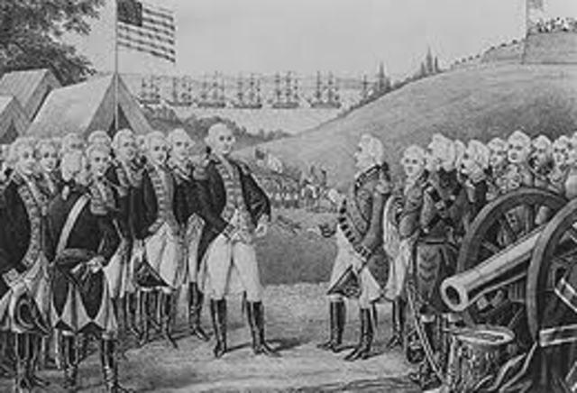 French and British Battle in Chesapeake Bay