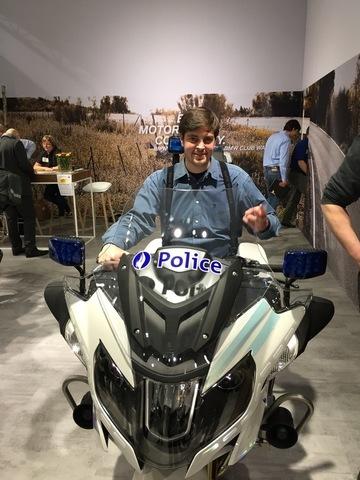 Salon de la moto!  :-)