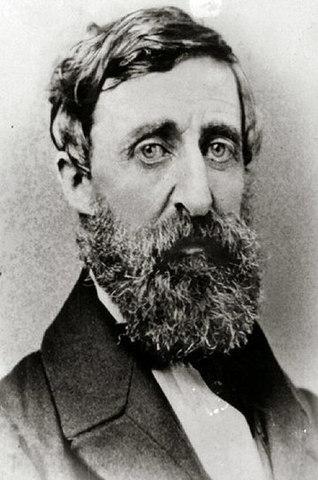 Henry David Thoreau Published Civil Disobedience