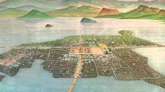 La llegada de los mexicas a la cuenca