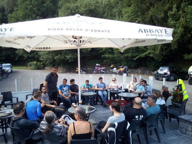 Visite des Abbayes: Chimay II