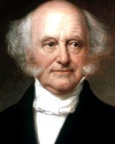 Martin Van Buren Elected President