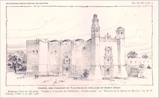 Fundación del Colegio de Santa Cruz de Tlatelolco