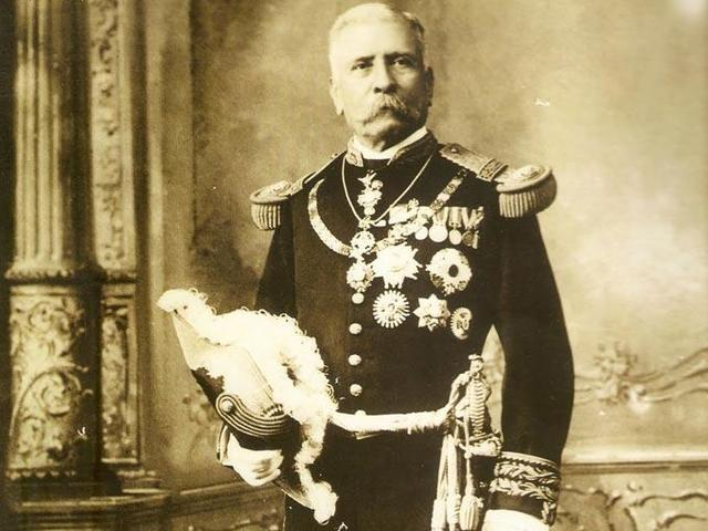 Porfirio Díaz llega a la presidencia.