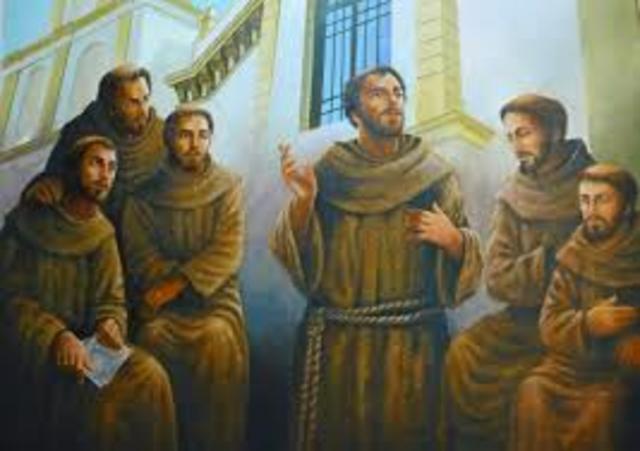 Llegan los franciscanos