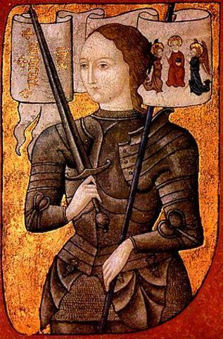 Muere en la hoguera Juana de Arco