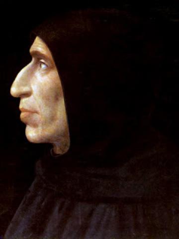 Ejecucion de Savonarola en Florencia