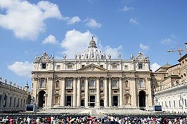 Bramante: Inicio de la construcción de San Pedro en Roma